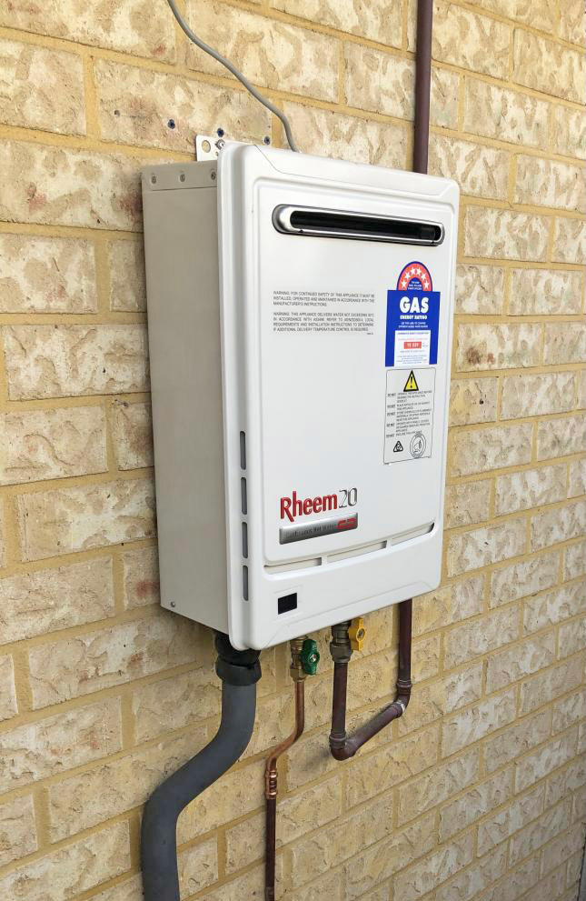 electric storage hot water system