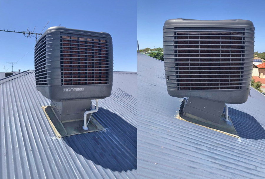 evaporative airconditioning replacement, maintenance, install