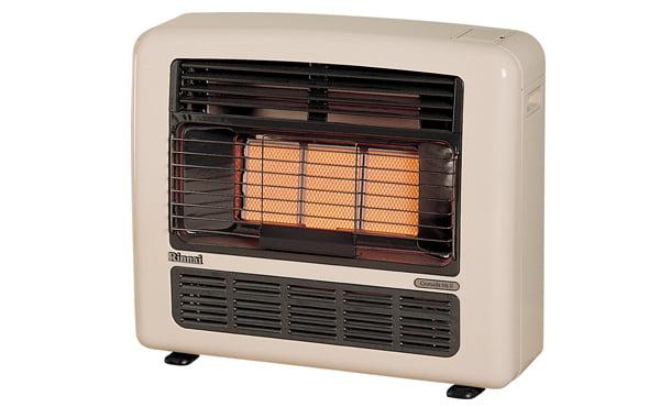 Portable gas heater servicing